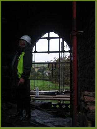 Work at Hopton Castle