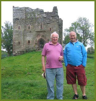 Time Team at Hopton Castle